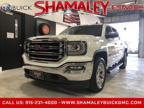 Pre-Owned 2018 GMC Sierra 1500 SLT TEXAS Edition