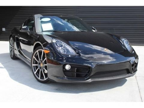 Pre-Owned 2016 Porsche Cayman Black Edition Black Edition
